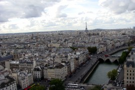 Top of Notre Dame Cathedral
