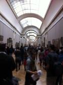 Inside Le Louvre - Paris, France