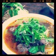 Bún Bò Huế = Spicy Pho