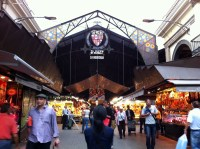 La Boqueria Market - the greatest market I have EVER seen. LOVED this place!