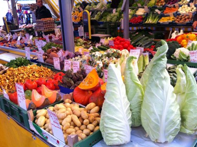 Local farmers market.