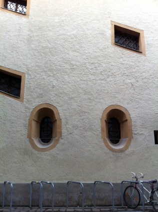 Strange windows.