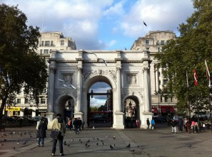 The Marble Arch.
