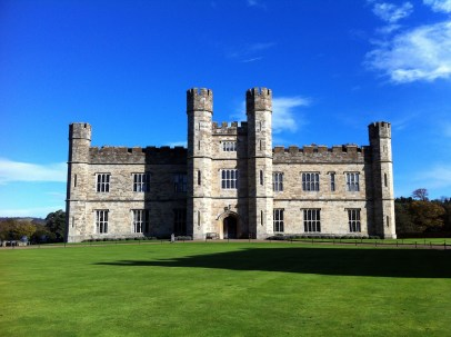 Day trip to Kent. This is Leeds Castle (is not in Leeds, but in Kent), England