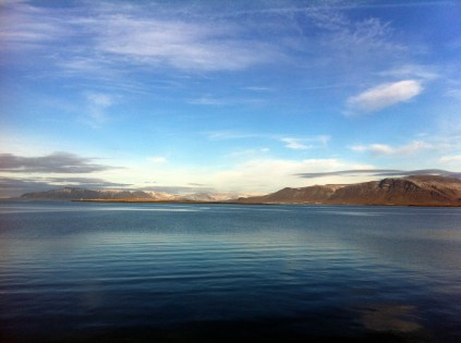 Reykjavik. First glimpse of beautiful Iceland!