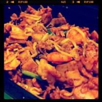 Fried Kuey Teow - Sambal Coconut Malaysian Szechuan Cuisine