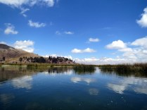 Lake Titicaca, Peru.