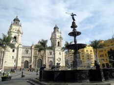 Lima - Old City Square.
