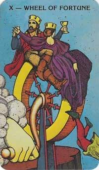 Wheel of Fortune, Morgan Greer Tarot