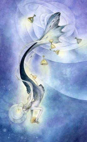 Eight of Cups tarot card - Shadowscapes Tarot