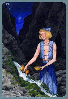 Page of Cups Anna K Tarot