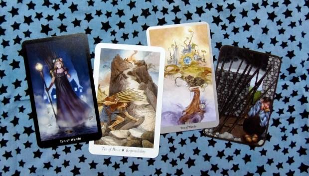 Ten of Wands cards