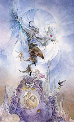The Devil tarot card Shadowscapes Tarot