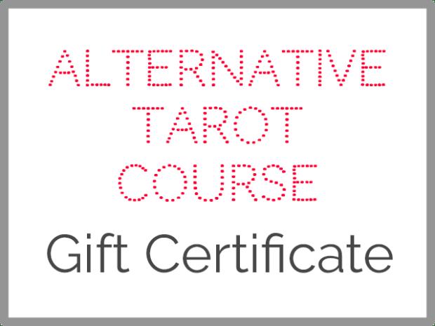 alternative tarot course gift certificate
