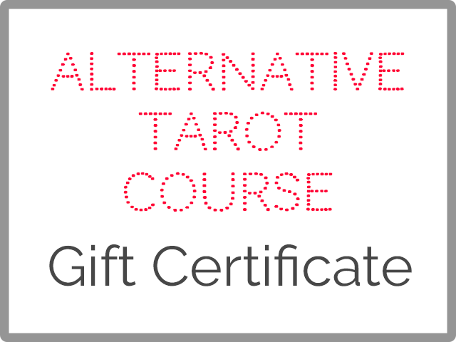 alternative tarot course gift certificate