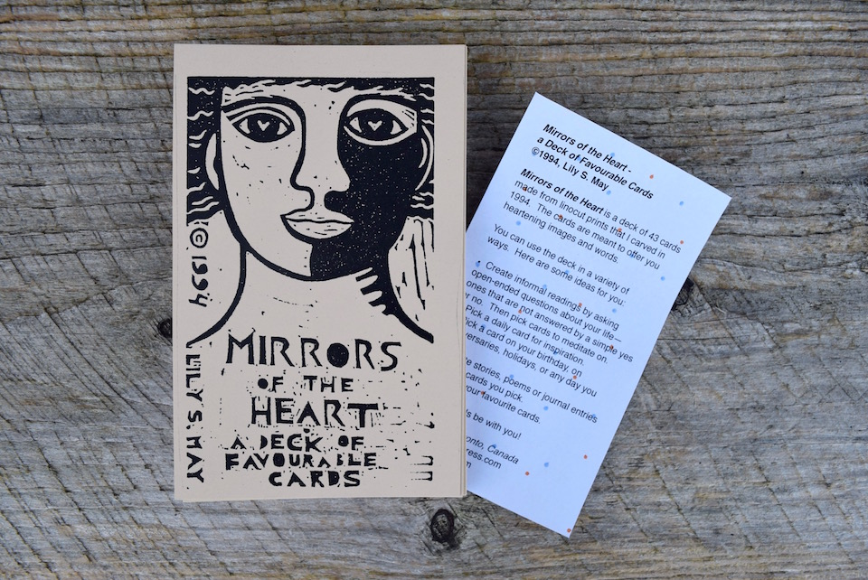 Mirrors Of The Heart A Deck Of Favourable Cards Little Red Tarot