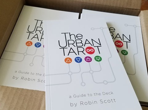 Urban Tarot Guidebook Robin Scott