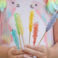Zuckerkristalle züchten
