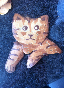 Pancake Art - Katze