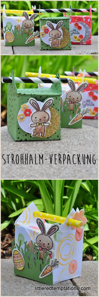 Strohhalm-Verpackung
