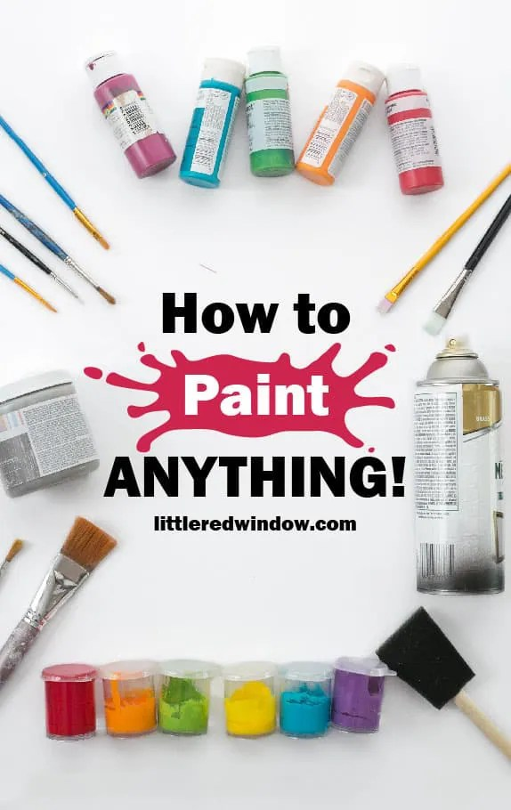 Best Paint For Cardboard : paint, cardboard, Paint, Anything!, Little, Window