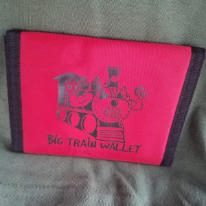 Nylon Big Train Wallet