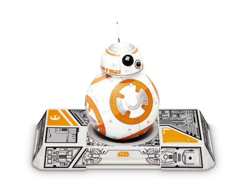 Remote controlled BB8 robot