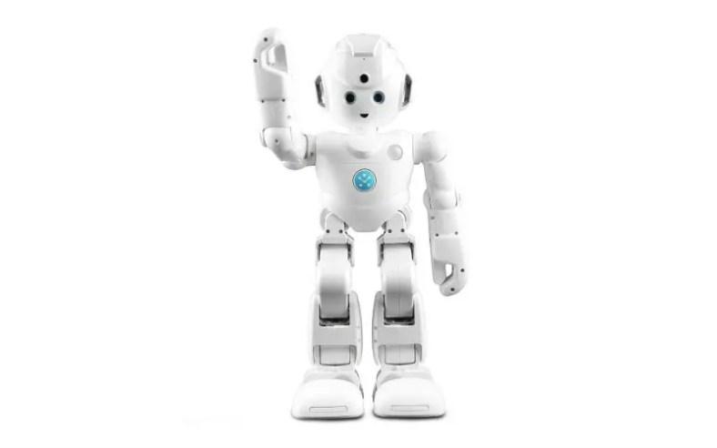 Lynx home help robot with Alexa on amazon