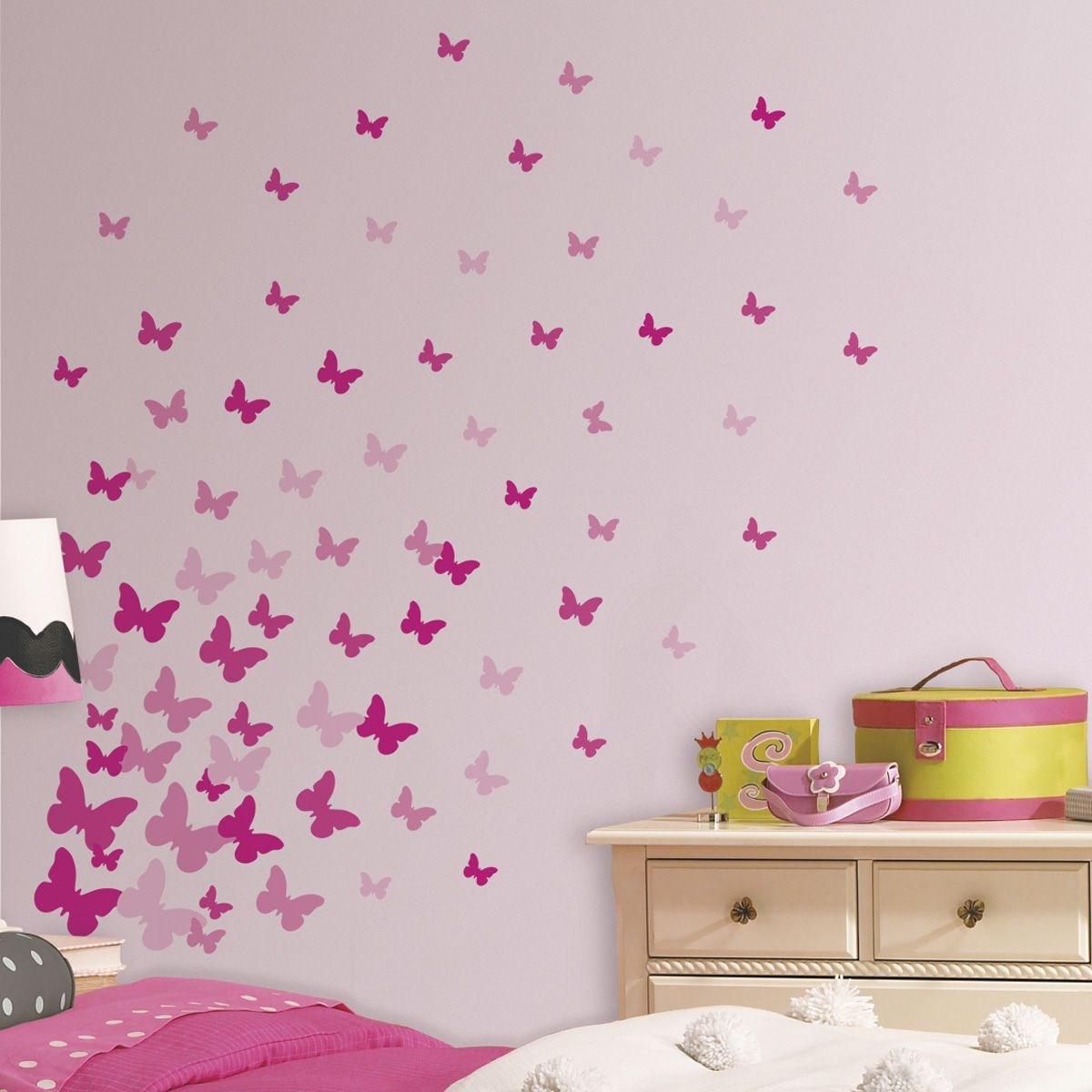 Wandtattoo Kinderzimmer Schmetterlinge Wandtattoo Pferd 43