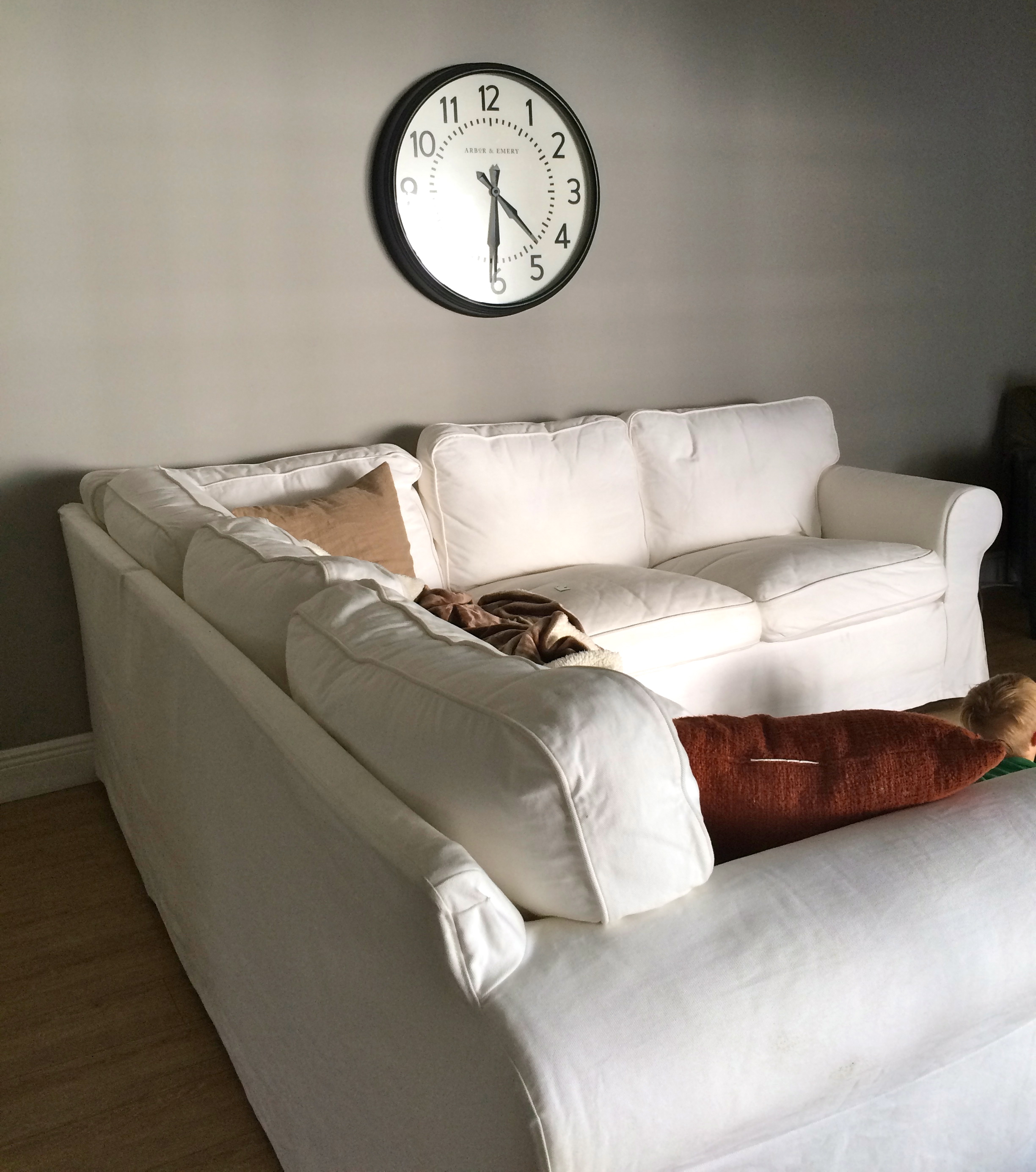 Why I love the IKEA Ektorp White Slipcover Sectional and why I