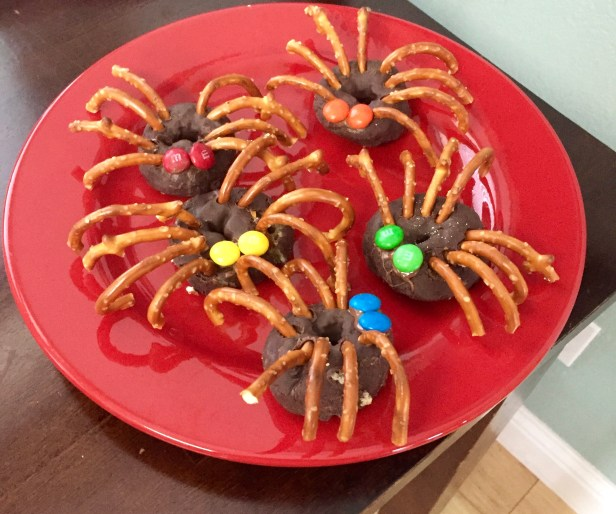 My Pinterest Halloween snack!
