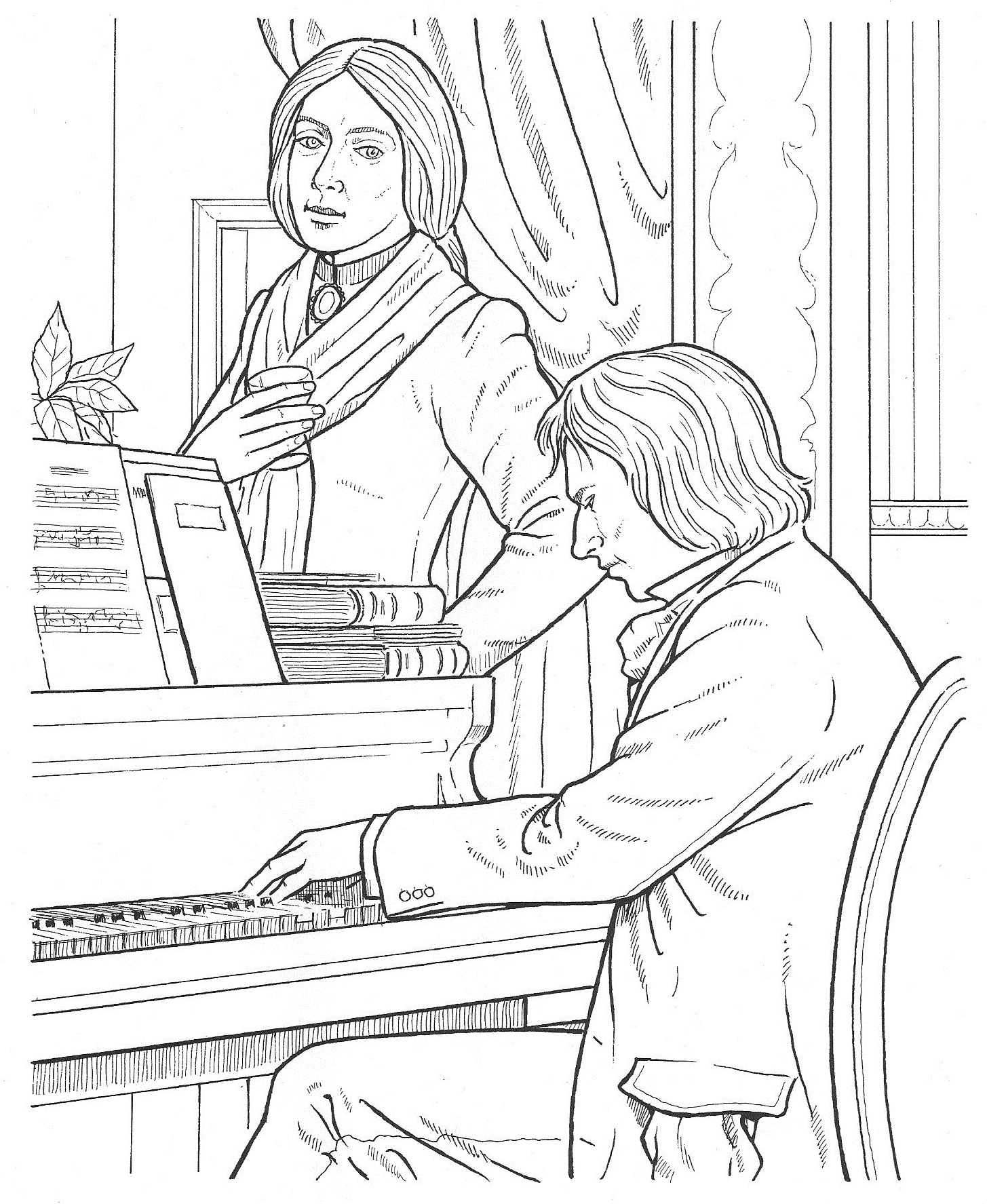 Composer Coloring