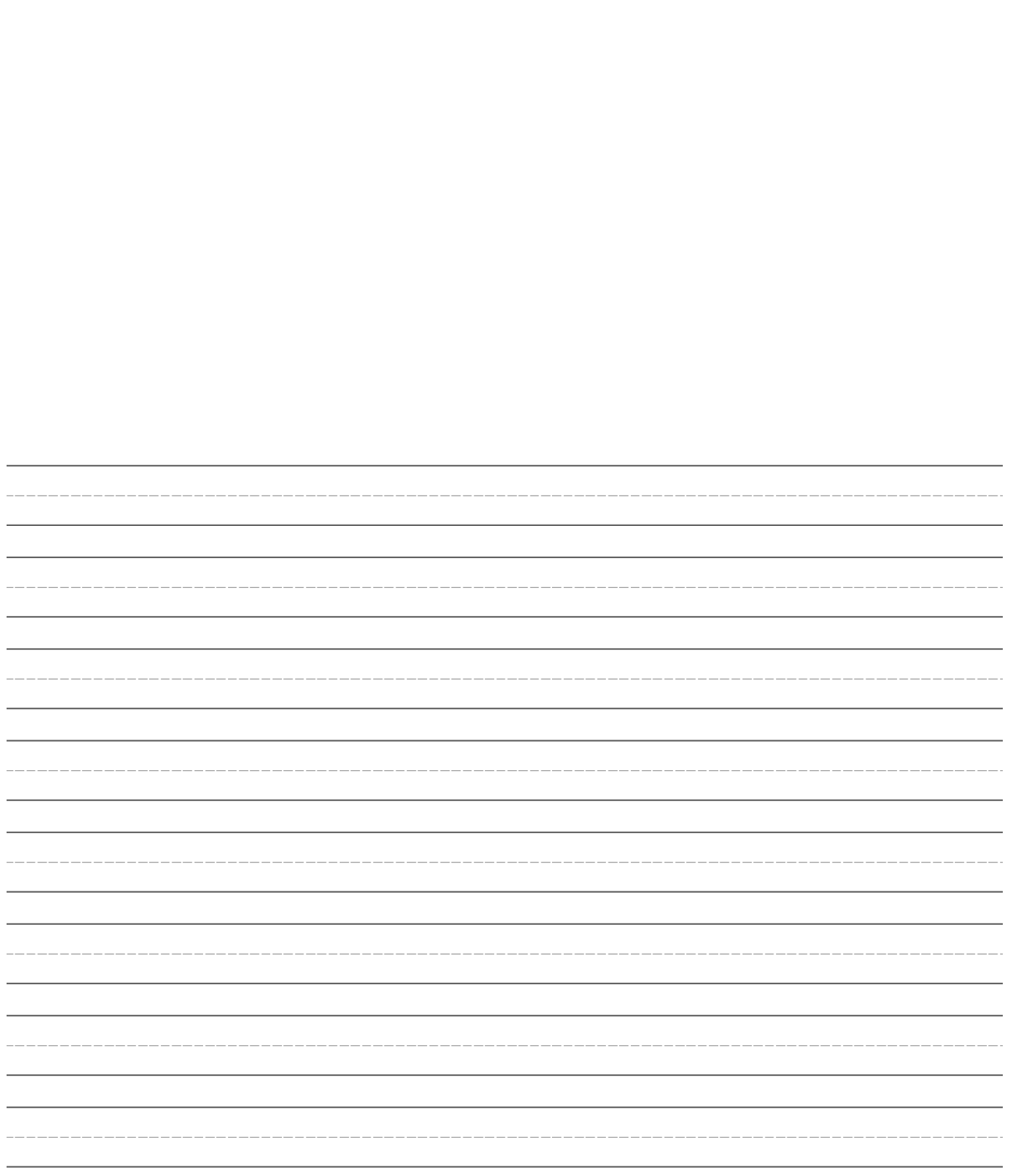 Search Results For Blank Lined Paper Kindergarten