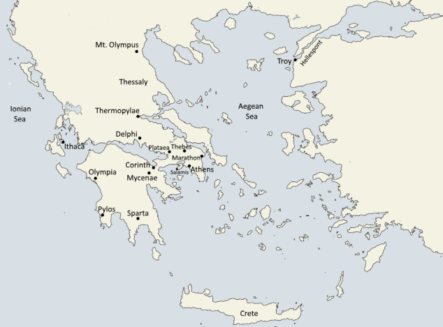 Greece key - Greece/Roman History Maps and Keys
