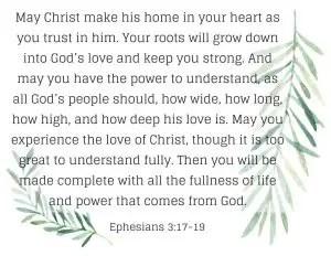 Ephesians prayer of blessing - blessing prayer examples