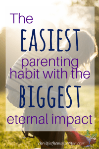 3 crucial keys to praying Biblical blessings over your child, and a free email series to help you get started!