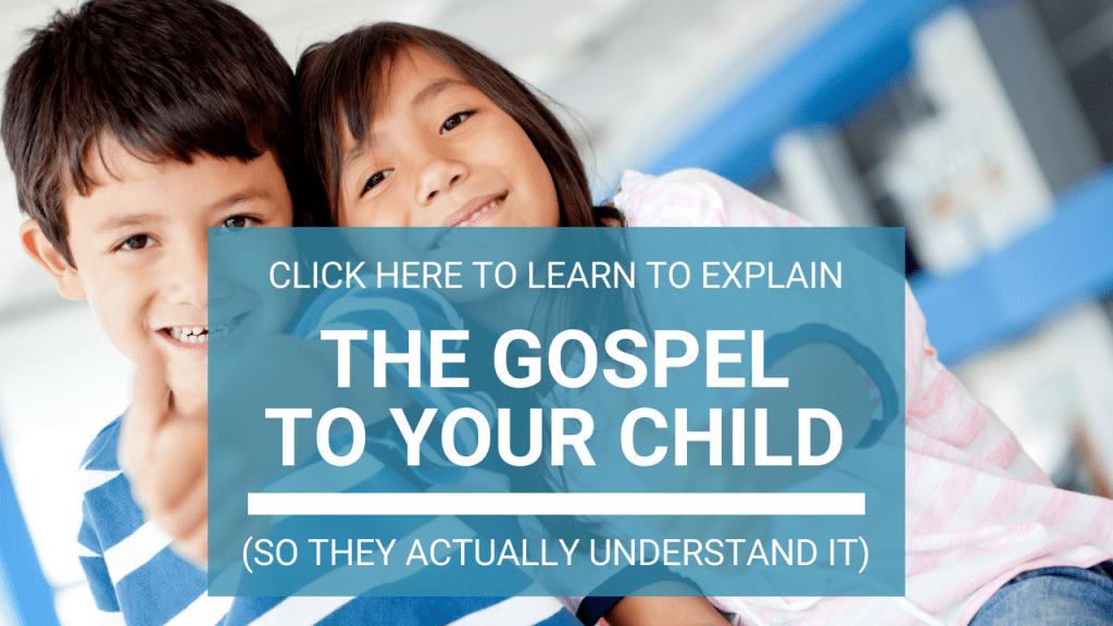 a simple gospel presentation for kids, and a link to download the printables