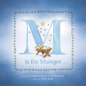 M is for Manger, Crystal Bowman