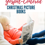 The Nativity story isn't just a cute story, it's the Gospel! Use these children's picture books to share God's story of Christmas with your toddler, preschool, and elementary-age children. | Advent books for kids | Keep Jesus in Christmas | Fun and meaningful Christmas gifts for kids #Christianparenting #ChristinChristmas #kidlit