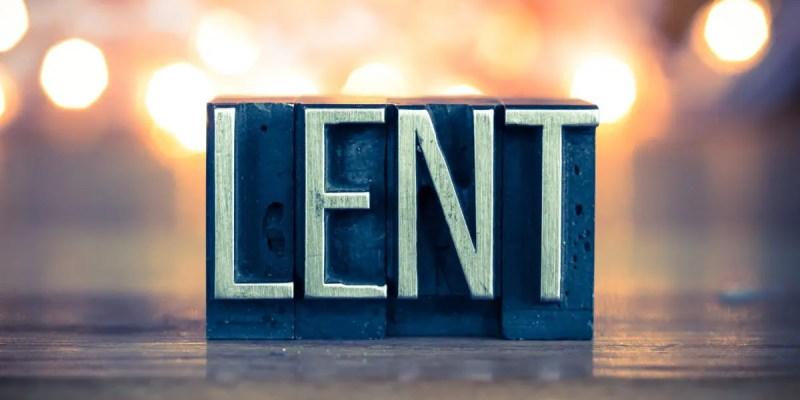 Lent for all Christians