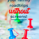 Survive (and thrive in) on your family road trip with these best audiobooks for families. Includes tips on how to find audiobooks, a list of traditional books as well as new adventures, great kids podcasts and Christian books. #Christianparenting #kidlit