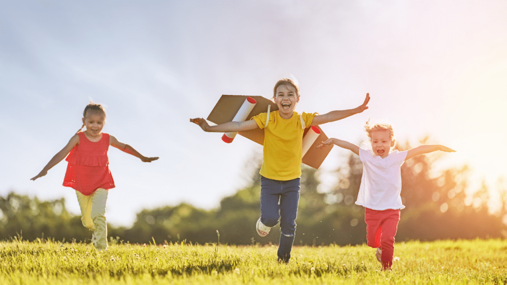 Letting Kids experience God's Goodness for themselves