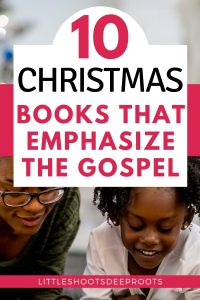 The Nativity story isn't just a cute story, it's the Gospel! Use these children's picture books to share God's story of Christmas with your toddler, preschool, and elementary-age children. | Advent books for kids | Keep Jesus in Christmas | Fun and meaningful Christmas gifts for kids #Christianparenting #ChristianChristmas #kidlit #kidmin