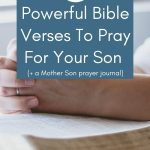 Bible verses to pray for your son
