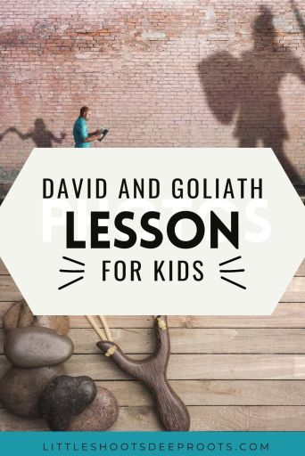 David and Goliath lesson for kids