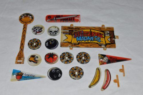 Medieval Madness Promo Plastic Set
