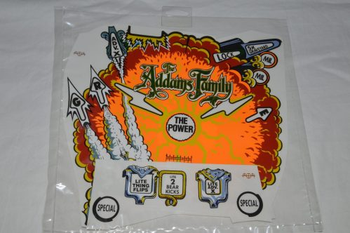 Addams Family Explosion Overlay and insert decals
