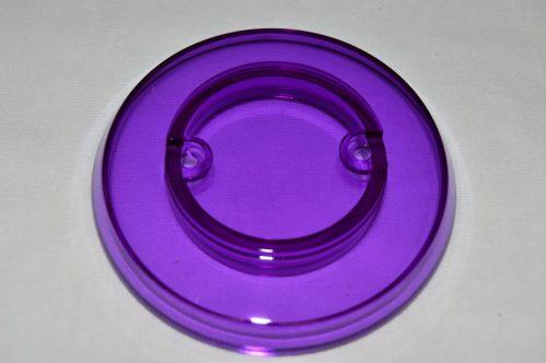 Purple Transparent Pop Bumper Cap 03-8254-18