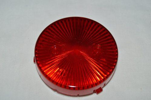 Red Transparent Pop Bumper Cap 03-8277-9