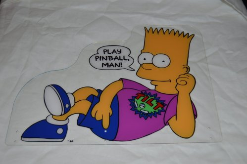 Bart Topper For Simpsons Pinball
